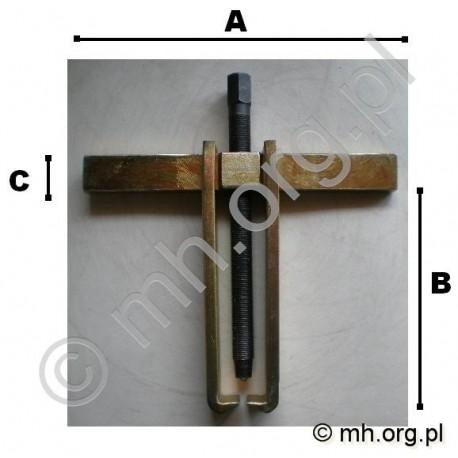 Ściągacz 250 mm dwuramienny do łożysk i kół pasowych - POLSKI PRODUKT