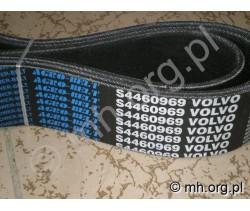 Pas na młocarnię VOLVO S 830 -  S 4460969 - AgroBelt - pas płaski VOLVO 830 młocarnia