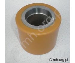 Koło 82x70 - metalowo poliuretanowe - ZAKREM do wózków - VULKANOL