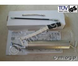 Smarownica ręczna 500 cm3 z końcówkami - 58092 - TUV Product Service