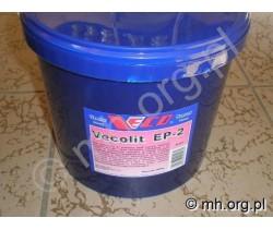 Smar EP-2 VECOLIT - 4,5 kg - Smar Litowy EP2 czerwony