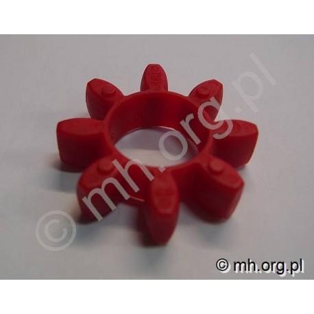 Łącznik ROTEX 24 - czerwony 98 - łącznik elastyczny do sprzęgła KTR ROTEX