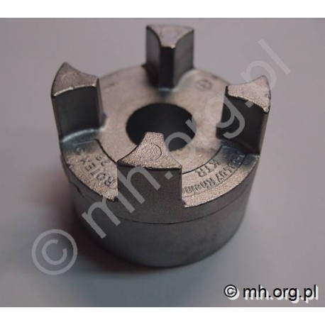 Piasta ROTEX 28 ALUMINIUM (otwór wstępny 23 mm) - KTR
