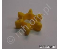 Łącznik ROTEX 19 - czerwony 98 lub żółty 92 - łącznik elastyczny do sprzęgła KTR ROTEX