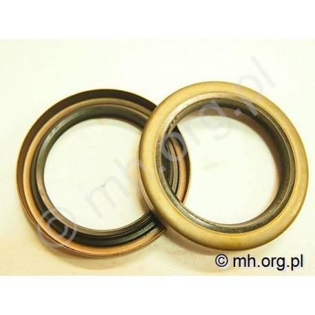 Simering 42x58x7 B1SL NBR, uszczelniacz 42-58-7 B1SL NBR - metalowa zabudowa - 102336