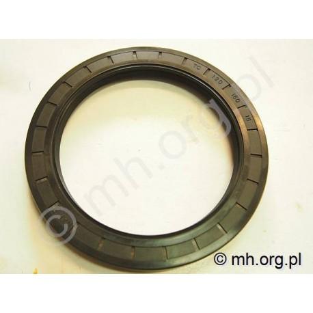 Simering 120x160x15 TC NAK, 120-160-15 uszczelniacz - dwuwargowy NBR