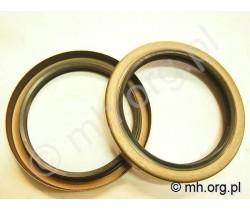Simering 85x110x13 TB metalowa obudowa, dwuwargowy - NAK Seal - 85-110-13 TB