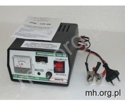 Prostownik akumulatorowy 12V 8A - HERTZ - POLSKA PRODUKCJA