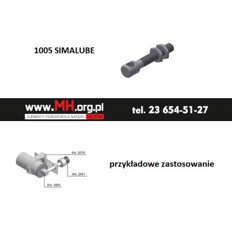 1005 SIMALUBE - 290.1005 - połączenie z gwintem, złączka
