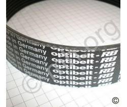 Pas napędowy do paralotni PJ 508  14 żeber szerokości OPTIBELT Germany