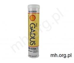 Smar SHELL GADUS S2 V220AC 2 - 400g - czerwony smar