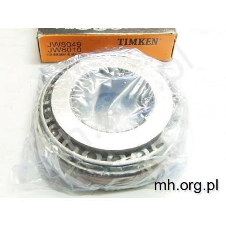 Łożysko JW8049 JW8010 - TIMKEN - 80x160x45