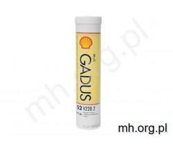 Smar SHELL GADUS S2 V220 2 - 400g - smar brązowy